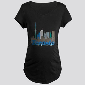 Toronto Skyline Maternity T-Shirt