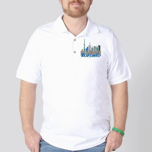 Toronto Skyline Golf Shirt