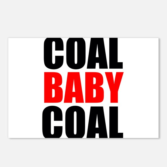 Coal Baby Coal Postcards (Package of 8)