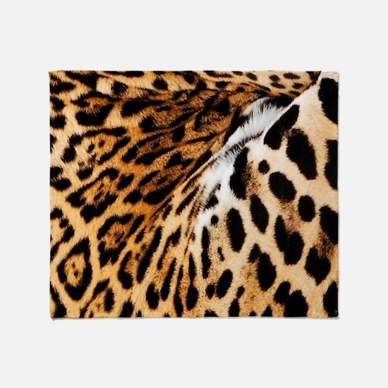 Jaguar Throw Blanket