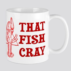 That Fish Cray Mugs