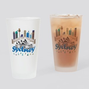 Sydney Skyline Drinking Glass