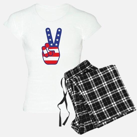 Peace Sign Pajamas