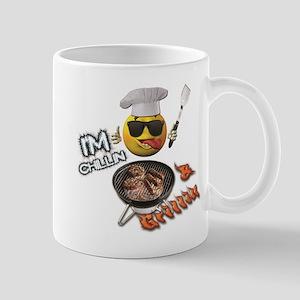Chillin & Grillin Design 1 Mugs