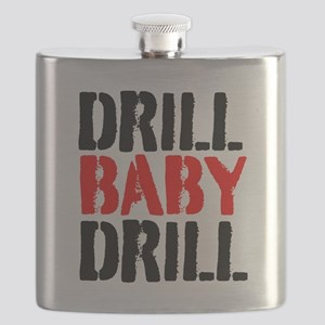 Drill Baby Drill Flask