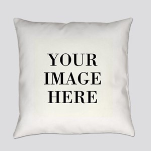 Your Photo Here by Leslie Harlow Everyday Pillow