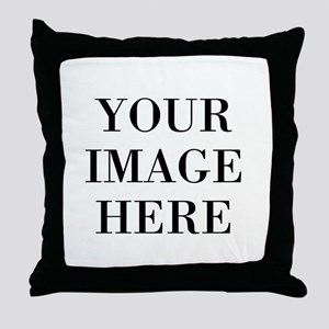 Your Photo Here by Leslie Harlow Throw Pillow