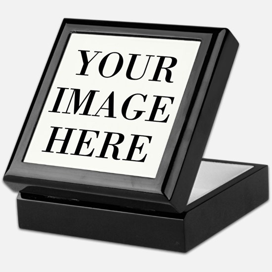 Your Photo Here by Leslie Harlow Keepsake Box