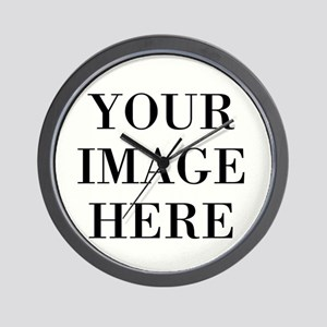 Your Photo Here by Leslie Harlow Wall Clock