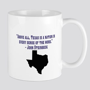 Texas is a Nation Mugs