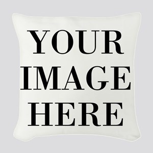 Your Photo Here by Leslie Harlow Woven Throw Pillo