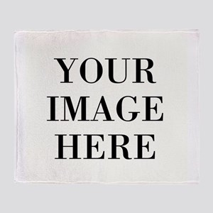Your Photo Here by Leslie Harlow Throw Blanket