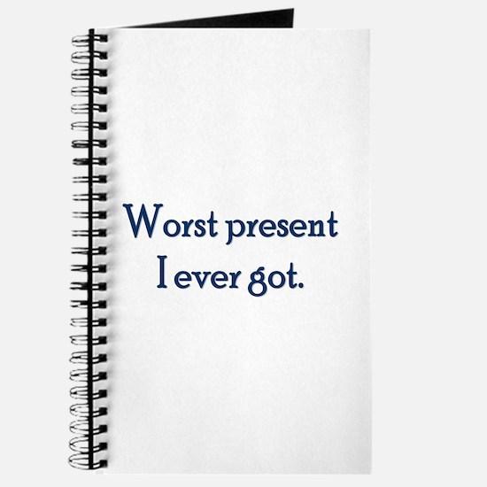 Worst Present Journal