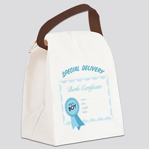 Special Delivery Canvas Lunch Bag
