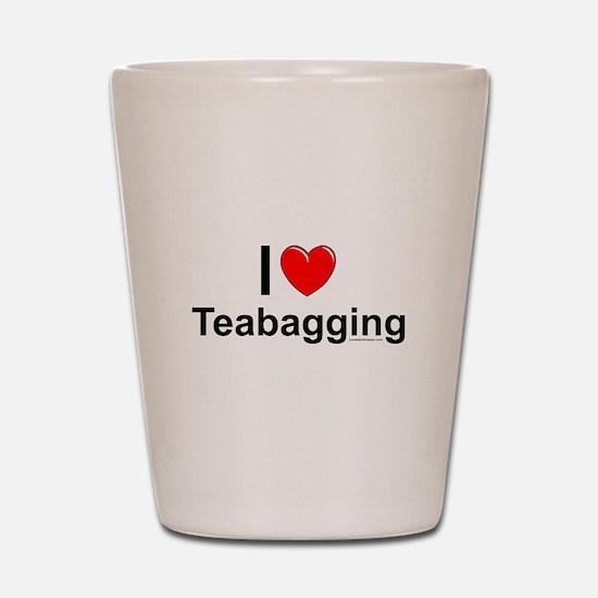 Teabagging Shot Glass