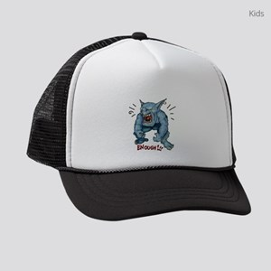 EnoughBeastRed.png Kids Trucker hat