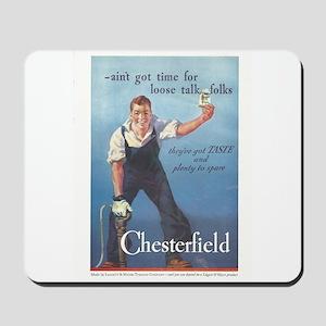 Vintage Chesterfield Cigarette Advertising 1936 Ph