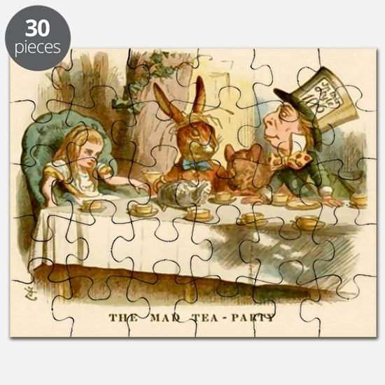 Cute Alice in wonderland door Puzzle