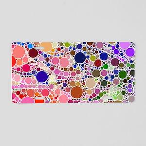 Bubble Fun 02 Aluminum License Plate