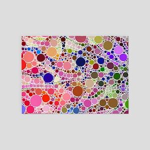 Bubble Fun 02 5'x7'Area Rug