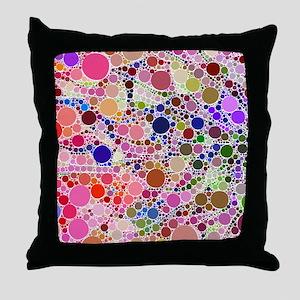 Bubble Fun 02 Throw Pillow