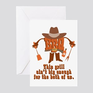 BBQ Showdown Gifts Greeting Cards (Pk of 10)