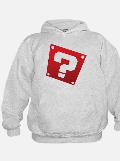 Warped Question - Red Hoodie