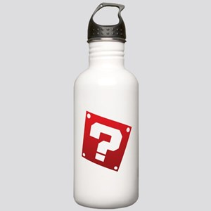 Warped Question - Red Water Bottle