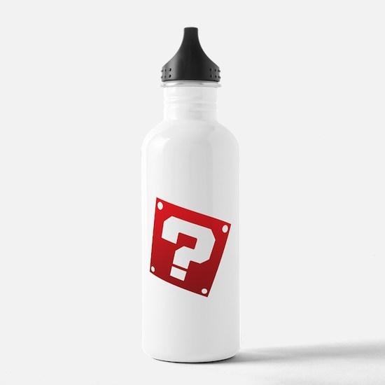 Warped Question - Red Water Bottle