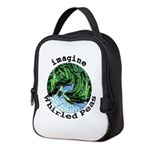 Imagine Whirled Peas Neoprene Lunch Bag