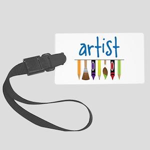 Artist Luggage Tag