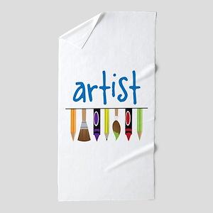 Artist Beach Towel