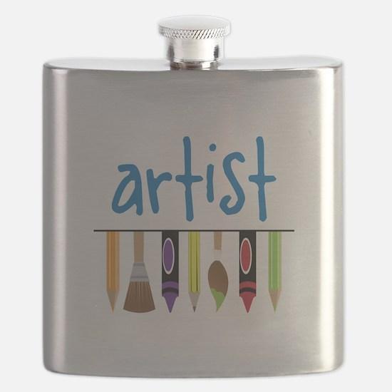Artist Flask