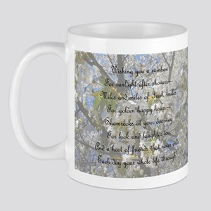 Irish Rainbow of Blessings Mug
