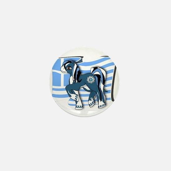 Cool Grecian Mini Button