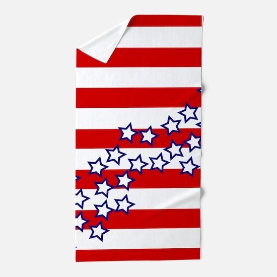 Stars and Stripes Beach Towel
