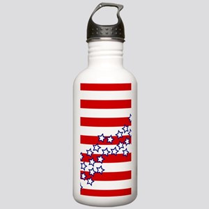 Stars and Stripes Stainless Water Bottle 1.0L