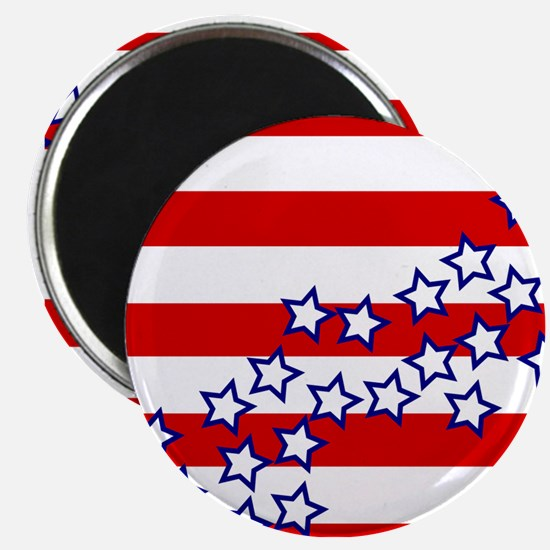 """Stars and Stripes 2.25"""" Magnet (100 pack)"""
