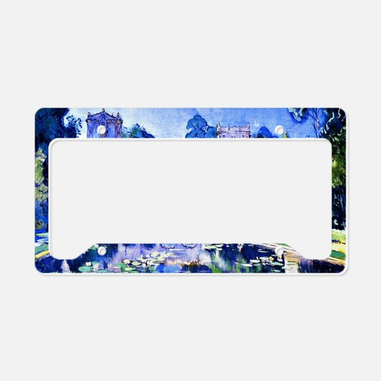 Lily Pond, Balboa Park License Plate Holder