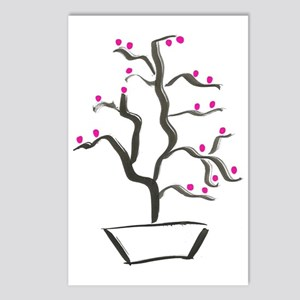 cherry bonsai Postcards (Package of 8)