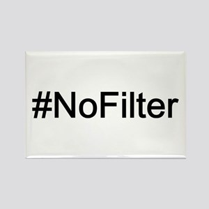 #NoFilter Rectangle Magnet
