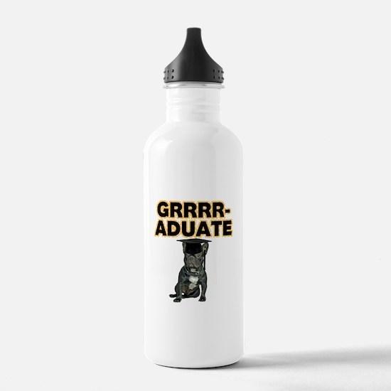 Graduation French Bull Water Bottle