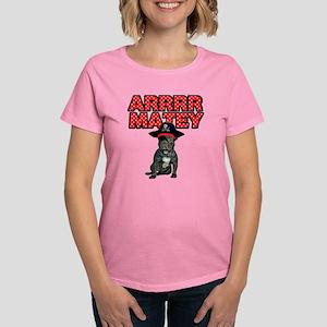 Pirate French Bulldog Women's Dark T-Shirt
