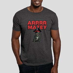 Pirate French Bulldog Dark T-Shirt