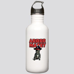 Pirate French Bulldog Stainless Water Bottle 1.0L