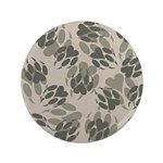 "Claws Camo 3.5"" Button"