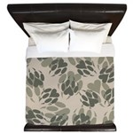 Claws Camo King Duvet