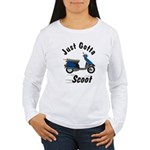 Just Gotta Scoot Elite Women's Long Sleeve T-Shirt