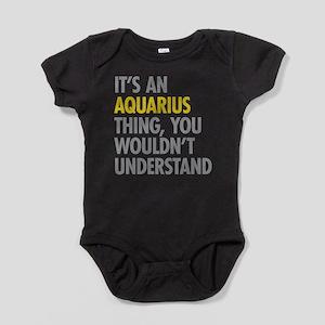 Aquarius Thing Baby Bodysuit
