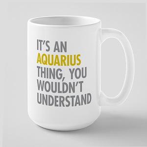 Aquarius Thing Large Mug